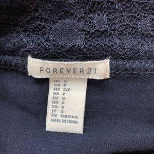 Forever 21 Skirts - Lace Mini Skirt (Navy)